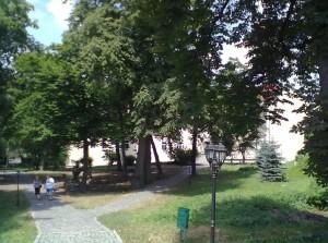 Парк ужгородського замку