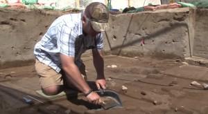 Процес археологічних розкопок