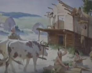Реконструкця побуту трипільців