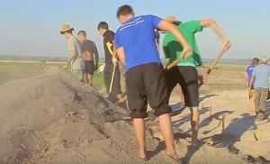 Розчистка розкопу
