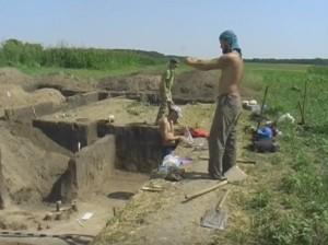 Розкопки черняхівського поселення