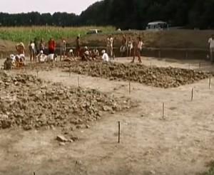 Розкопки трипільського поселення
