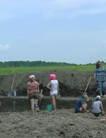 Розкопки трипільської культури