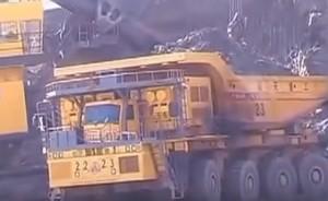Самый большой китайский грузовик для работы в карьере