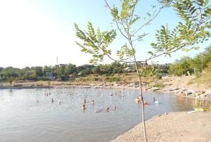 Солотвинське солене озеро