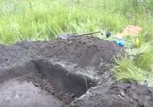 Свіжий археологічний розкоп