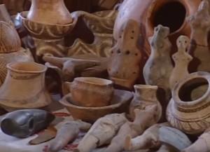 Трипільські теракотові фігурки