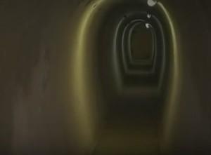 Тунель укріплень лінії Арпада