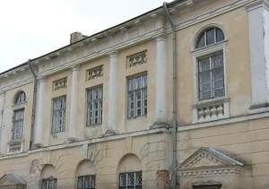 Архітектурні деталі на південно-східному фасаді палацу