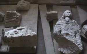 Архітектурні деталі з замку в Бережанах