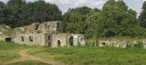 Двір теребовлянського замку