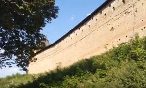 Мури Луцького замку