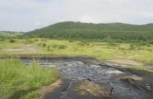 Поле озокеритових розробок і грязевих вулканів у Старуні