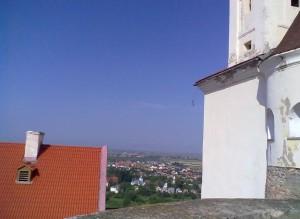 Вид з Мукачівського замку