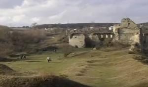 Замкове подвір'я Сидорівського замку