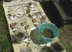 Знахідки з розкопу