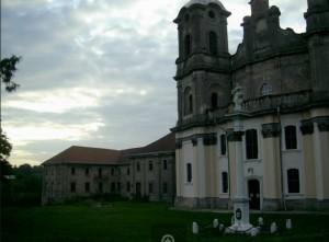 Костел і монастир у Городенці