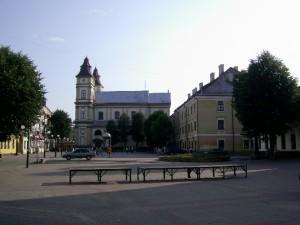 Майдан Шептицького в Івано-Франківського - тут було трипільське поселення