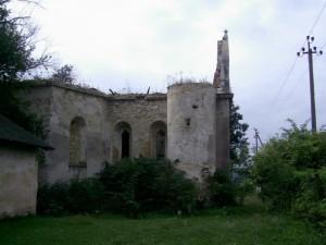 Оборонна вежа чернелицького костелу