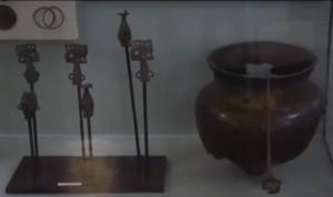 Скифские металлические вещи из Одесской области