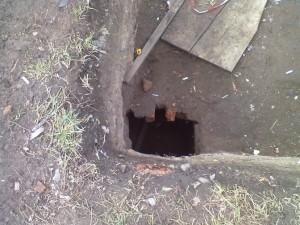 Стародавнє підземелля в Івано-Франківську
