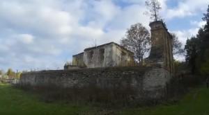 Залишки костелу святого Антонія у Тайкурах