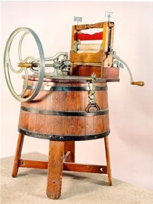 Антикварная стиральная машина