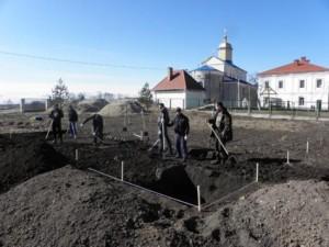 Археологічні дослідження у Жидичині поблизу Свято-Миколаївського монастиря