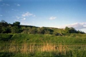 Городище у селі Любче