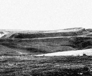 Стара фотографія давньоруського городища