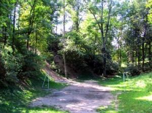 Вали давньоруського городища у Степані