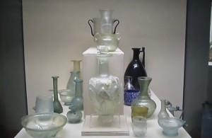 Античные стекляные сосуды