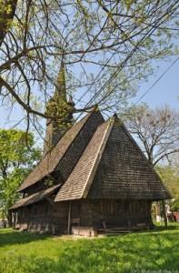 Дерев'яна готична церква у селі Тросник-Шашвар