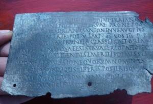 Диплом про громадянство римського воїна, знайдено на Хмельниччині