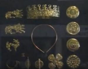 Гальванокопії золотих речей з Михалківського скарбу