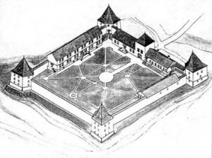 Реконструкція замку у Золотому Потоці