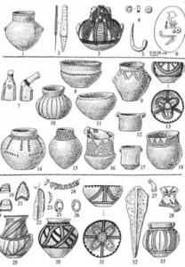 Вещи усатовской культуры
