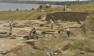 Античное поселение