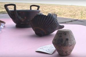 Античные находки из Коминтерновского района