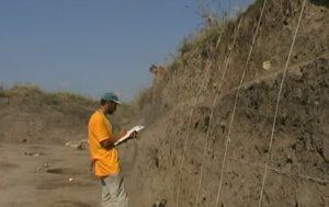 Описание археологического горизонта