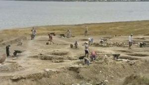 Раскопки у Черного моря