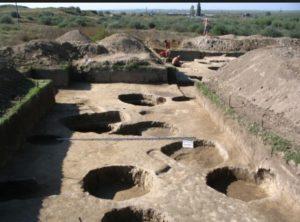 Раскопки в Орловке