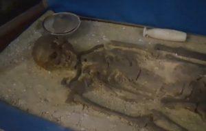 Реконструкция черняховского погребения
