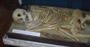 Реконструкция древнего погребения из Одесского музея