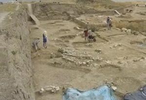 Руины античного поселения
