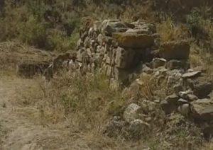 Руины античного здания