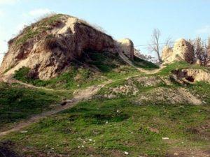Залишки давньоруського гродища на Волині