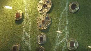 Золотые украшения гуннского типа