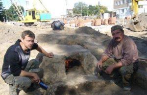 Археологічні розкопки у Полтаві