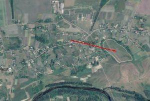 Імовірне місце городища літописного міста Голтва